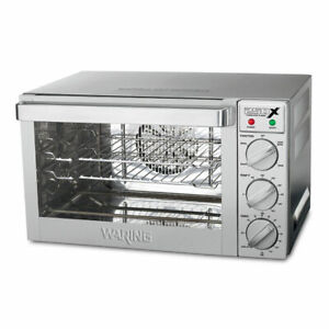 Waring Wco250x Quarter size Countertop Convection Oven 120v