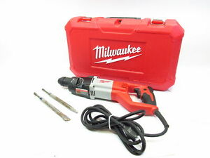 Milwaukee Power Tools 5262 20 Corded 7 8 Sds Plus Rotary Hammer Case