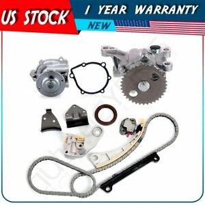 For 99 03 Chevrolet Tracker 2 0l L4 Dohc Timing Chain Water Oil Pump Kit