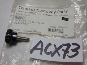 Tennant Carpet Extractor Replacement Part Round Knob 618 037 02 25 20 Black Ss