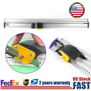70cm Kt Board Cutting Ruler Track Cutter Tool Trimmer Sliding For Straight Cut