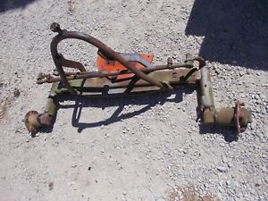 Allis Chalmers Ca Tractor Ac Original Adjustable Wide Front End Frontend W Hubs