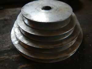 Older 4 Step Pulley For Machine Jig Fixture Motor Drive 3 4 Bore