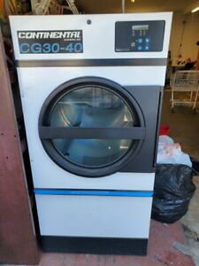 Continental Girbau Cg30 40 30lb 3 phase Commercial Electric Dryer