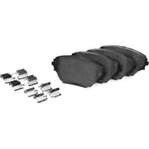 106 04120 Centric Brake Pad Sets 2 wheel Set Front New For Chevy Ford Mustang