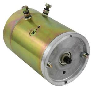New Electric Pump Motor Fits Curtis Snowplow Fenner Stone Prime 1788 ac 2578 ac