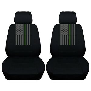 Customized Seat Covers For A 2010 To 2020 Ford Mustang American Flag Abf