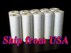 10 Tubes 100 Rolls Brand New White Labels For Mx 6600 Price Label Gun