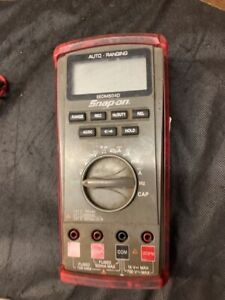 Snap on Eedm504d Auto range Digital Multimeter ao1036411