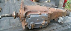 Chevy Saginaw 343 Truck 3 Speed Transmission 352258 326558