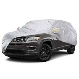 Waterproof Suv Car Cover W zipper Outdoor Protection For Jeep Compass Renegade
