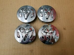 Dodge Oem 2004 2013 Caliber Dakota Ram 1500 Set Of Center Hub Cap 52110398aa