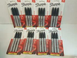 24 Sharpie Fine Tip Permanent Markers 8 Packs Of 3 Pens