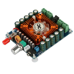 Xh m521 Car 4 Channel 50w 4 Hifi Stereo Audio Amplifier Board With Fan Tda7850