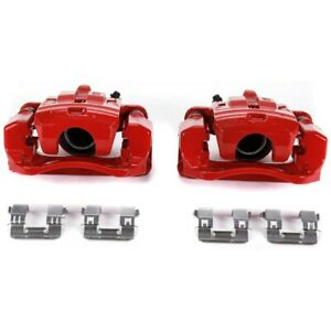 S7092 Powerstop Brake Calipers 2 wheel Set Rear Driver Passenger Side Lh Rh