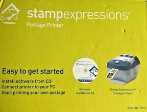 Pitney Bowes Stampexpressions Postage Printer Model No 770 8