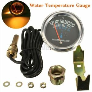 Universal 2 52mm Car Mechanical Water Temperature Temp Meter Gauge 100 220