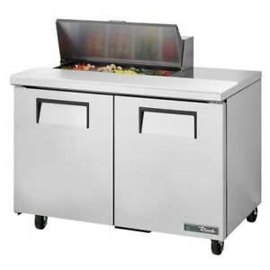 True Tssu 48 08 hc 48 Sandwich salad Prep Table Refrigerated Base 115v
