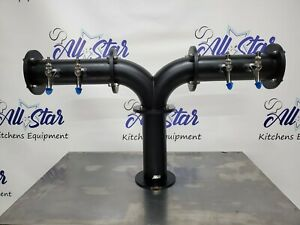 Draft Beer Tower Micro Matic 4 Faucets Commercial