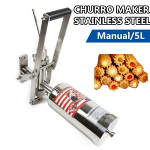 Professional 5l Spanish Donuts Donut Machine Doughnut Churrera Churro Maker