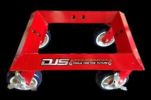 Djs Fabrications Universal Car Wheel Dolly Djs 00102 Dolly Only No Adapters