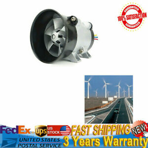 Adjustable Car Auto Electric Turbine Power Turbo Charger Fan Boost Air Intake Us