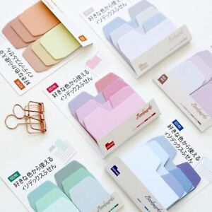 Watercolor Sticky Notes Cute Memo Pad Office Supplies Stationery Scrapbook Paper