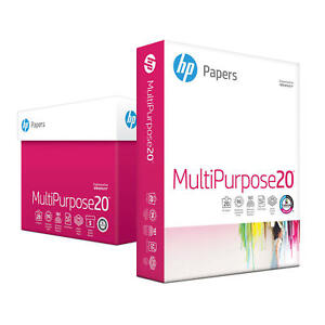Hp Multipurpose Copy Paper 8 5x11 96 Bright 5 Ream