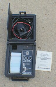Amprobe A c Voltage And Current Recorder Av21e In Case