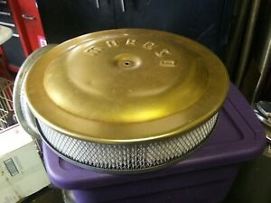 Moroso Vintage Gold 14 Inch Air Cleaner