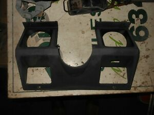 Jeep Wrangler Yj 87 95 Under Dash Steering Bezel Gauge Cluster Trim Panel