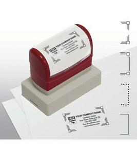 Name And Address Stamp Large Pre inked Item D2022l