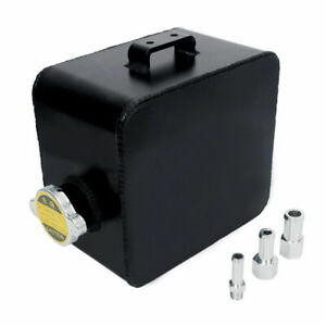 2 5l Aluminum Water Coolant Radiator Overflow Recovery Tank Universal Expansion