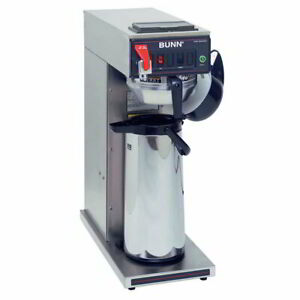 Bunn Cwtf15 Aps Airpot Coffee Brewer Stainless Steel Funnel 120v 23001 0017