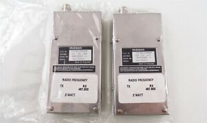 2 New In Open Box Maxon Sm 5030sc Data Link Radio Receivers