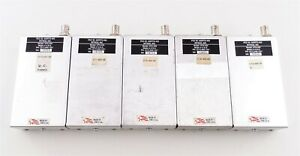 Lot Of 5 Used Ritron Dtx 450 0b Programmable Fm Transceiver Modules