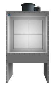 New 4 Wide Bench Spray Booth 1 Hp 1 Phase Made In Usa