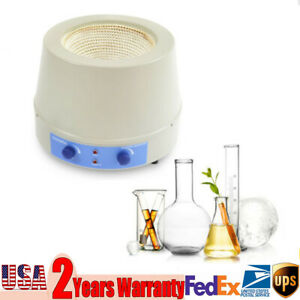 2000ml Heating Mantle Magnetic Stirring Stirrer 450w 1600rpm Electri
