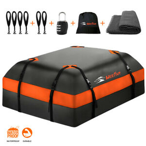 Roof Top Bag Cargo Carrier Waterproof 15 Cubic For All Cars With Without Rack