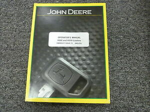 John Deere H260 H310 Front End Loader Owner Operator Maintenance Manual Omw55317