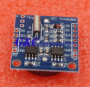1pcs I2c Rtc Ds1307 At24c32 Real Time Clock Module Without Battery A2tm