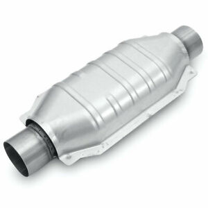 Magnaflow 94109 Universal High flow Catalytic Converter 3 Oval In out