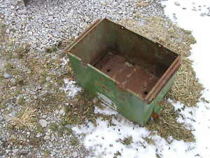 John Deere 50 60 520 530 620 630 Tractor Jd Battery Box