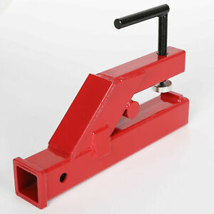 Clamp On Trailer Hitch 2 Ball Mount Receiver Deere Bobcat Tractor Bucket