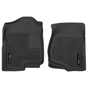 53101 Husky Liners Floor Mats Front New Black For Chevy Suburban Yukon Chevrolet