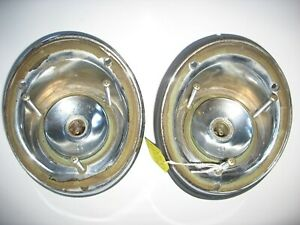 1964 Dodge Dart Station Wagon Tail Light Housing Nice Pair Of Sockets