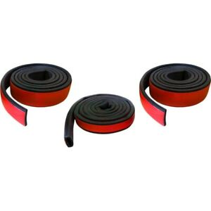 Bwk 6110 87 Precision Parts Roof And Top Weatherstrip Seal Kit New For Wrangler