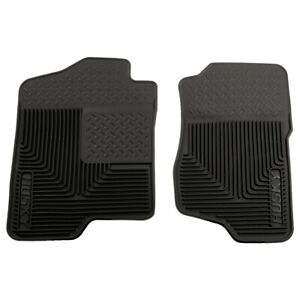 51181 Husky Liners Floor Mats Front New Black For Chevy Suburban Yukon Chevrolet
