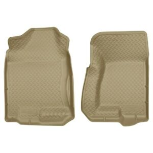 31303 Husky Liners Floor Mats Front New Tan For Chevy Avalanche Suburban Yukon