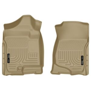 18203 Husky Liners Floor Mats Front New Tan For Chevy Suburban Yukon Chevrolet